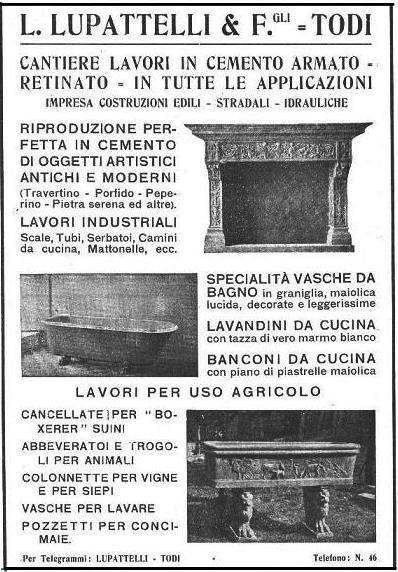 Pubblicità Cantieri Lupattelli
