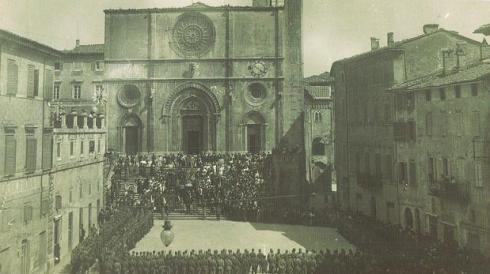 1915 (cerimonia partenza per la guerra 15-18)