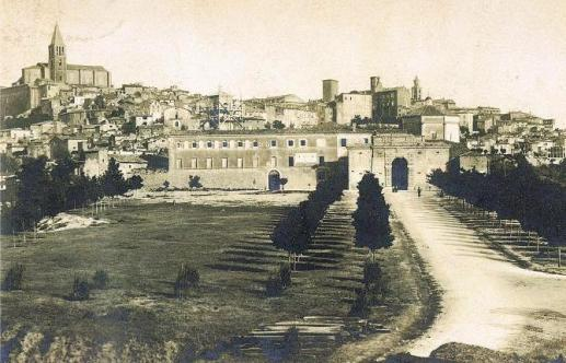 1935 Panorama da viale dii Porta Romana 1935